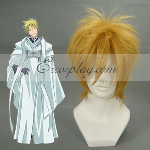 Image of 07-GHOST Frau Birkin Brown Cosplay Wig-012D
