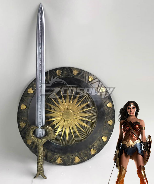 DC Comics Batman V Superman Dawn Of Justice Wonder Woman Diana Prince Cosplay Weapon Prop